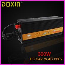 UPS DC To AC 24V 220V Car Power Inverter 300W Universal ST-N026 Car Battery Charger(China)