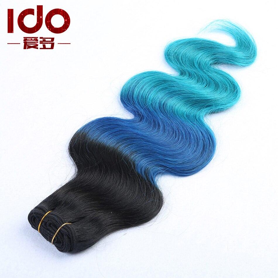 Grade 7A Brazilian ombre straight blue black hair extensions 1B/blue human hair weave cheap 100% unprocessed virgin hair bundles<br><br>Aliexpress