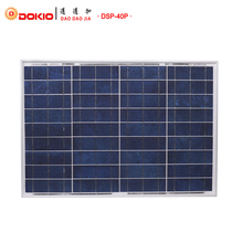 DOKIO Brand Solar Panel 40W Polycrystalline Silicon Solar Panels China 18V 460*660*25mm Size Top Quality Paneles solares China