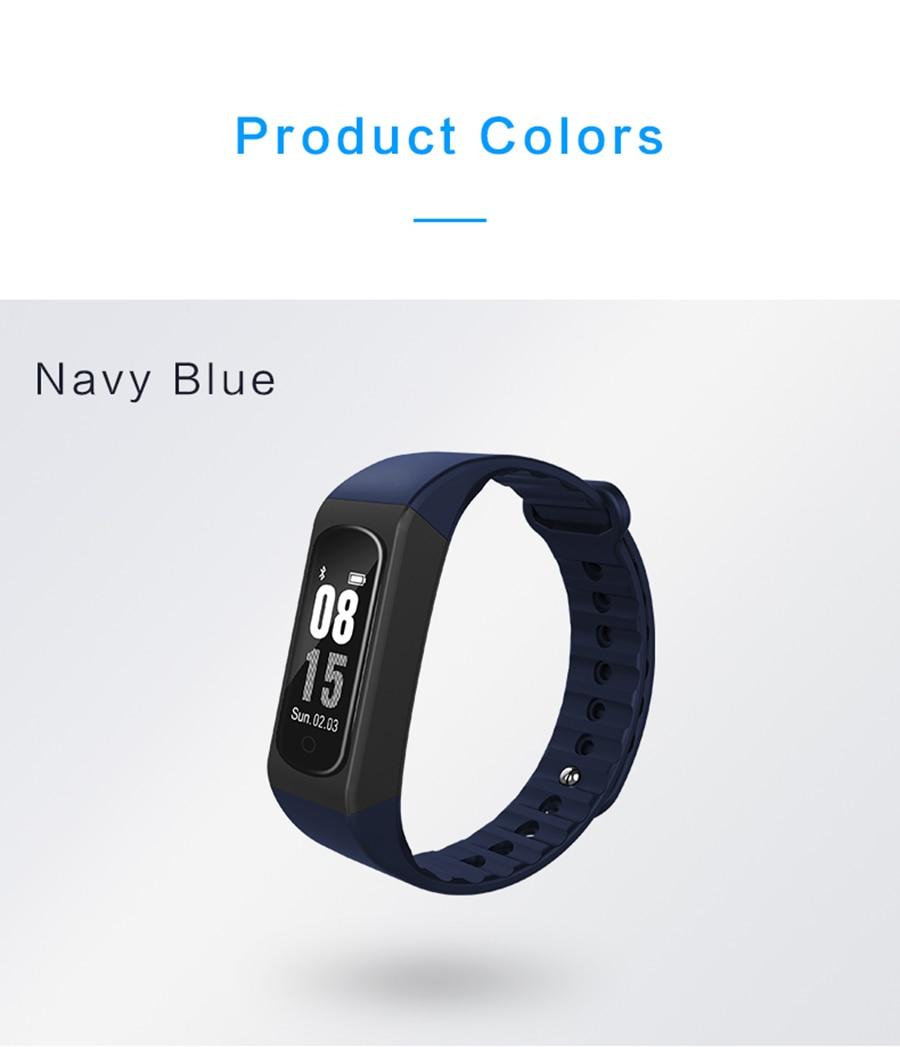 LAOKE Smart Band Heart Rate Monitor Sleep Monitor Fitness Tracker IP67 Waterproof Sport Pedometer Smart Wrist band Bracelet