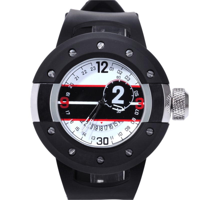 The new fashion trend quality goods movement thick calendar dial pointer waterproof men quartz strap watch army mens watch<br>