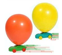 Balloon Powered Racer Cars - Ideal Fun Party Bag Fillers Classic Toys(China)