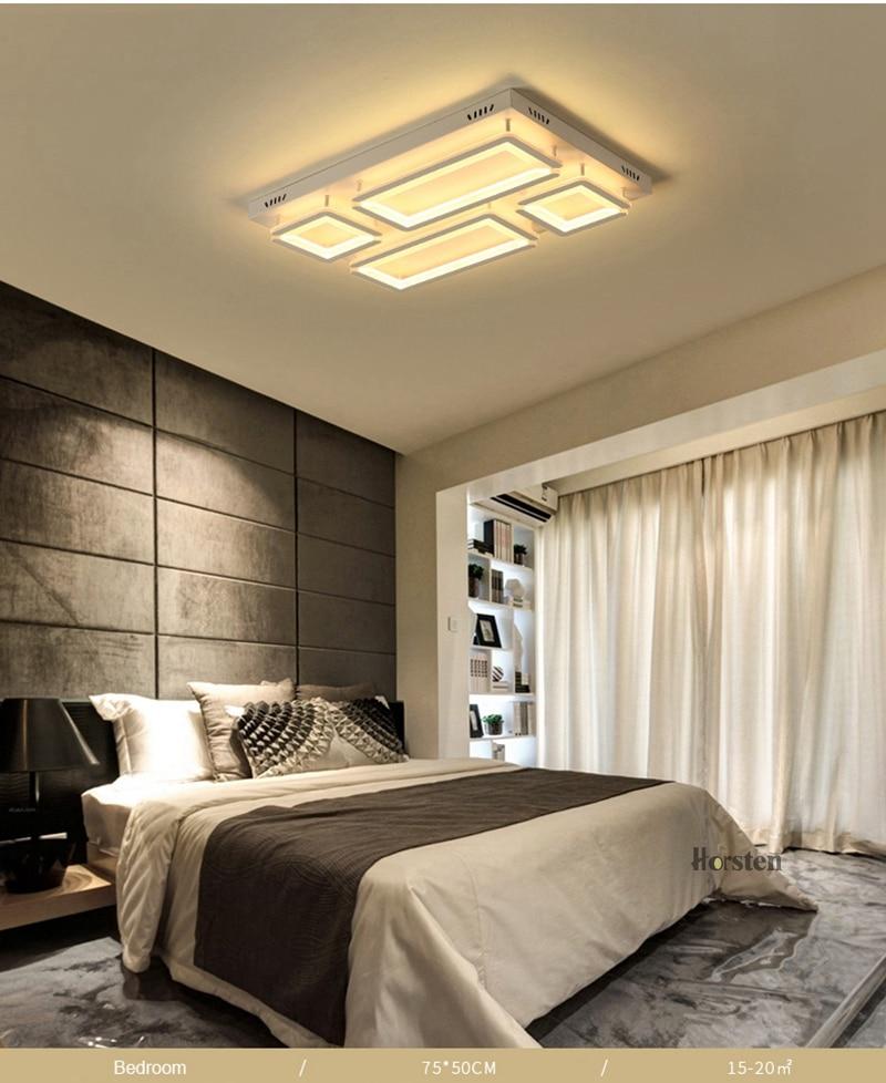 Modern Led Ceiling Light For Living Room Bedroom Kitchen Dimmer Simple LED Ceiling Lamp Home Lighting (10)