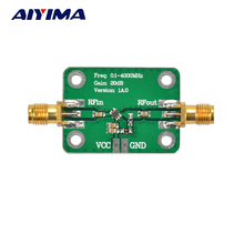 Aiyima 0.1-4000MHz Low Noise LNA Broadband RF Receiver Amplifier Signal Amplifier Module Gain 20dB(China)