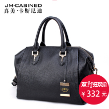 Kay New Pattern Tide Genuine Leather Woman Package Handbag Head Layer Cowhide Single Shoulder Span Bale Concise Commute Package