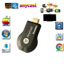 Anycast m2 iii Plus Miracast chromecast Wireless hdmi 1080p TV Stick adapter Wifi Display Mirror Receiver dongle for ios andriod(China)