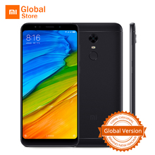 "Global Version Xiaomi Redmi 5 Plus 3GB 32GB ROM Mobile Phone Snapdragon 625 Octa Core 5.99"" 18:9 Screen 4000mAh 12.0MP MIUI 9(China)"