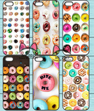Cream Donuts Bread Girl Love TPU Phone Case for Iphone 4S 5S SE 5C 6 6S 7 Plus Sony Z2 Z3 Compact Z4 Z5 Mini HTC M7 M8 M9 820(China)