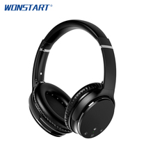 Buy Wonstart ANC Wireless Bluetooth Headset Stereo Casque Audio Bluetooth Headphone Wireless Headset Sport Earphone Mic for $48.71 in AliExpress store