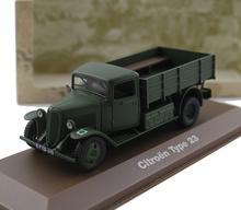 ATLAS 1:43 Citroen Type 23 Light military truck model Alloy collection model Holiday gift
