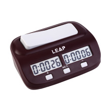 LEAP Professional Compact Digital Chess Clock Count Up Down Timer Electronic Board Game Bonus Competition Master Tournament free(China)