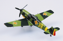 EASY MODEL scale model 37285 1/72 scale aircraft BF-109E ROMANIA assembled model finished model do not need to assemble(China)