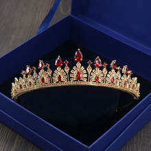 Queen Coronet With Full Cubic Zirconia Micro Inlays Brides Wedding Tiaras Crown Prom Hair Jewelry Headdress Accessories Bijoux