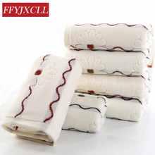 Selling brand adult Jacquard bathroom face towel 75cm * 35cm 100% cotton printed 4pcs / lot bamboo towel gift set(China)