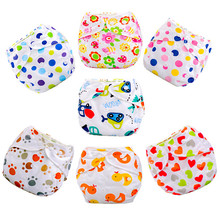 10PCS/LOT Baby Ajustable Nappies Washable Cloth Nappy Baby Diaper Nappy Cloth Reusable Diaper Diapers Winter Cover Wrap ZJ-369