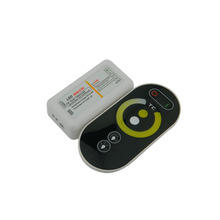 1X High quality Touch RF color temperature controller WW/CW CCT adjustable led controller DC12~24V input free shipping