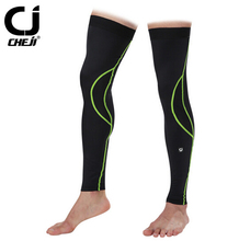 CHEJI Outdoor Bike Team Cycling Leg Sleeve Knee Warmer Bicycle Leg Warmers(China)