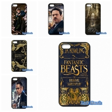 For HTC One M10 For Microsoft Nokia Lumia 540 550 640 950 X2 XL Fantastic Beasts and Where to Find Them Case Cover