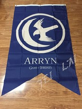 3ft x 5ft Game Of Thrones House Arryn Licensed Banner Tapestry Big New Banner Flag 100D Digital Printing flag free shipping