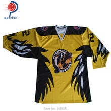 design make your own team ice hockey uniforms custom hockey jerseys Professional high quality(China)