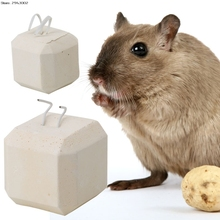 Mineral Stone Calcium Chew Toy Teeth Grinder Hamster Rat Chinchilla Rabbit(China)