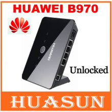 Free shipping Unlocked Huawei B970 B970b Original 3G wireless Router unlocked HSDPA WIFI router