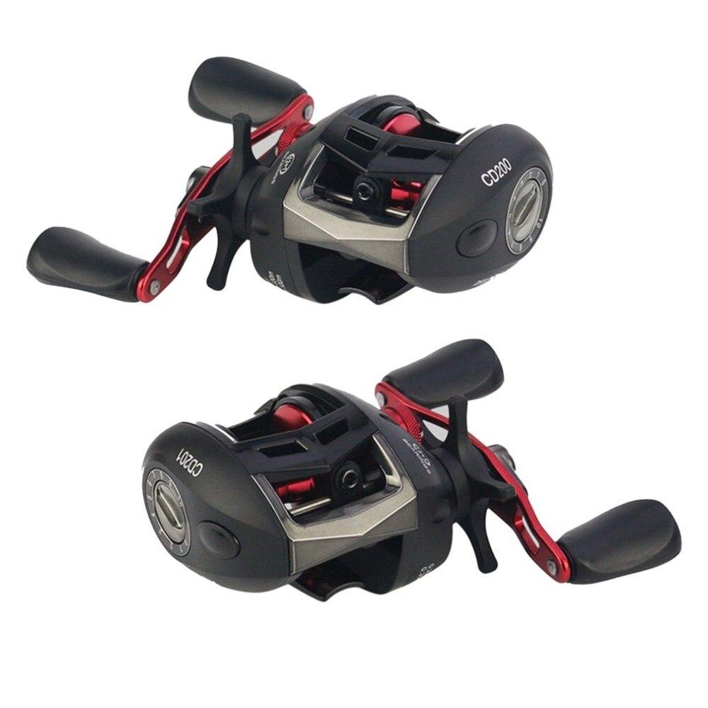 Fishing Reels 12+1 Ball Bearings 6.2:1 Speed Ratio Bait Casting Fishing Reel with Magnet Brake System LV200