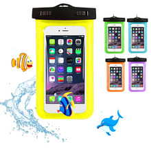 cunzhi Clear Universal Waterproof Pouch Diving PVC Case For Ulefone ARMOR / Vernee Thor Bag