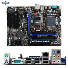 original Used Desktop motherboard For msi P43T-C51 P43 support LGA 775 4*DDR2 support 16G 6*SATA2 USB2.0 ATX