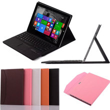 Litchi Pattern Bluetooth Keyboard case cover for Microsoft surface pro 3 tablet case leather cover tablet pc Free Shipping