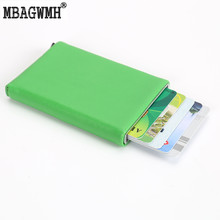 Buy New Arrival Automatic Pop Card ID Holders Aluminium Rfid Card Wallet Bank Card Holder Leather Business Credit Card Holder for $9.60 in AliExpress store