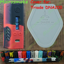 Lostvape Triade DNA 200 /Max 200W output Box Mod Case thicker skin Triade DNA 200W Mod Vaping Silicone Case 1pc Free Shipping