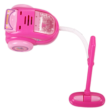 Children Educational Simulation Electric Dust Catcher Toy Kids Pretend Play Toys Pink Kitchen Toys