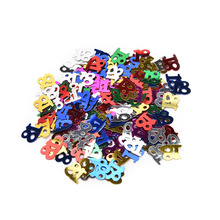 1 Pack Colorful Age 16th 18 20 21th HAPPY BIRTHDAY Confetti  Party Decoration Kits Confetti Party Decoration