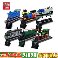 2017 DHL LEPIN 21029 1176Pcs Technic Series The 50 Years on Track Lepin Building Block Compatible 4002016 Brick Toy(China)