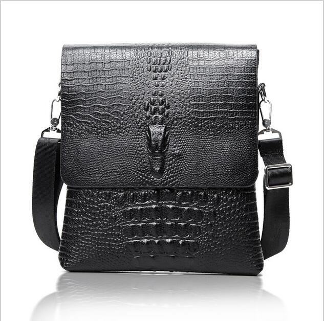 ETN BAG 042017 Crocodile leather shoulder bag man business shoulder bag<br><br>Aliexpress