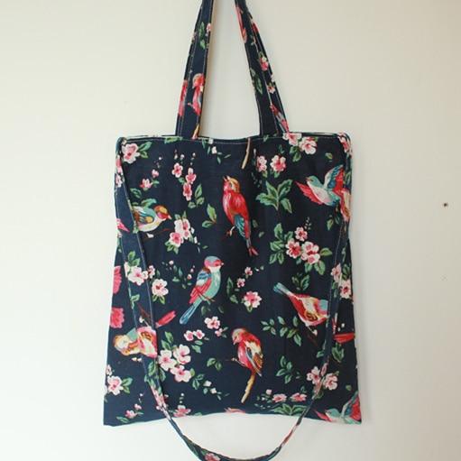 15 New Fashion Handmade Cotton Bag Shoulder Bag Messenger Bag Handbag Birds Flower Womens Handbag Shopping Bags Cotton Satchels<br><br>Aliexpress