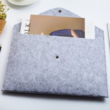 A4 Document Bag Chemical Felt File Folder Durable Briefcase Document Bag Paper File Folders Carpetas Stationery School Supplies