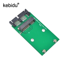 "Kebidu msata to Micro Sata SSD 1.8"" to 2.5"" SATA Converter Adapter Mini sata to M Sata SDD PCI-E to MSata(China)"