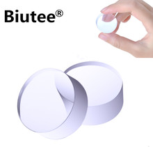 Biutee 2Pcs 2.8cm Clear Jelly Silicone Nail Stamper Head Manicure Nail Art Stamp Stamping Head Tools(China)