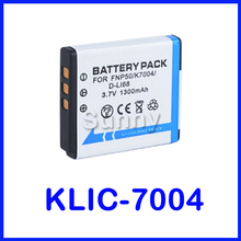 KLIC 7004 Lithium-Ion Rechargeable Battery Pack for Kodak KLIC-7004 and Kodak PLAYTOUCH, PlaySport Zx3, Zi8  Pocket Video Camera