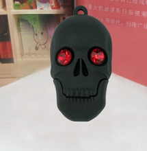 skull head 2GB 4GB 8GB 16GB 32GB  USB Flash Drive Pen Drive Memory Stick Drives/Thumb/Card/Car/Gift  creative Pendrive S59