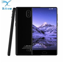 "LEAGOO KIICAA MIX Smartphone 5.5"" Full Screen Android 7.0 MTK6750T Octa Core 3GB+32GB Dual Cams Mobile Phone With Silicone Case(China)"