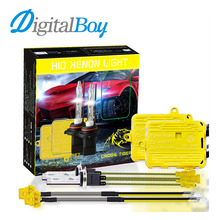 Digitalboy Car HID Fast Start Ballast Block kit AC 55W 6500K H1 H7 H9/H11 Xenon Bulb Headlight 9005 9006 Fog Light H4 Hi/Lo Beam