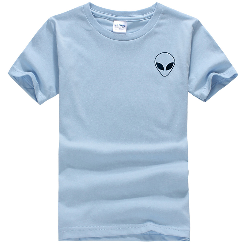 19 couleur S-XL Plaine T Shirt Femmes Coton Élastique De Base Chemises Casual Tops À Manches Courtes Harajuku Alien T-shirt Femme Vêtements 36