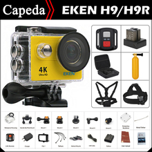 "Original EKEN H9 / H9R Ultra HD 4K / 25fps Remote WiFi 2.0"" LCD waterproof Helmet Cam underwater Sport Action camera(China)"
