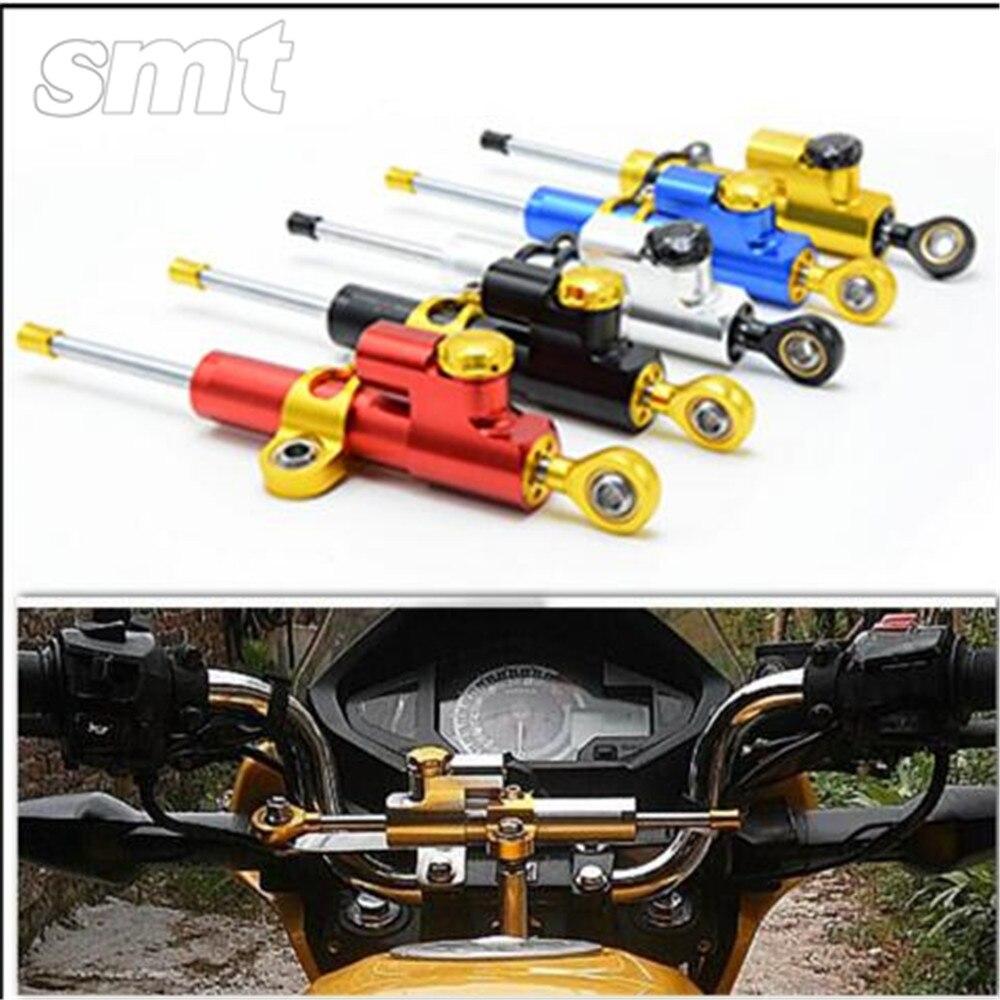 Universal Aluminum Motorcycle CNC Steering Damper For honda PCX 125/150 CBR900RR CBR 900 RR 1993 1994 1995 1996 1997 1998 1999<br>