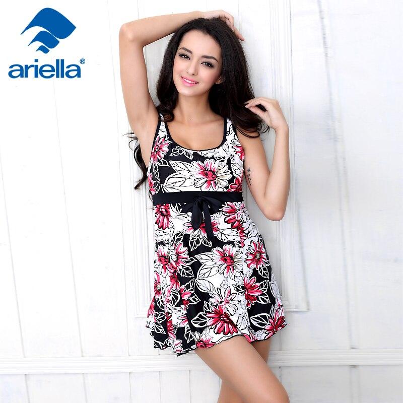 Sexy Women Sleeveless Swimwear Tops Beach Short Mini Dress One Piece Swimsuit Monokini Tankini Set ari-63F 15011309<br>