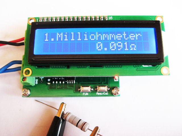 Free Shipping!  New version milliohmmeter module<br>