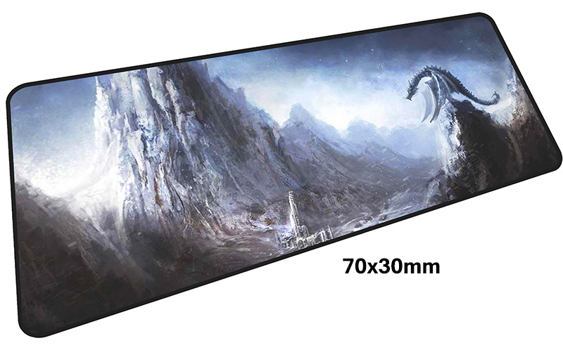 skyrim mouse pad gamer 700x300mm notbook mouse mat large gaming mousepad large Birthday present pad mouse PC desk padmouse 2